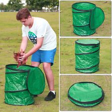 Large Collapsible Camping Trash Garbage Can Pop-up Leaf Container Holder Bag New
