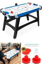 58 in Mid-Size Air Hockey Table Game Room w/ 2 Pucks 2 Pushers LED Score Board