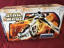 STAR WARS THE CLONE WARS  - REPUBLIC GUNSHIP - 'NEW' IN SEALED BOX
