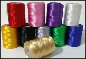 10 X Large Spools Of Floss Embroidery Thread Different Colours | UK Best