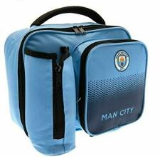 Manchester City Lunch Bag Fade Football Sports with Bottle Holder