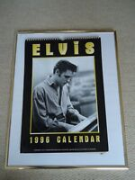 ELVIS PRESLEY CALENDAR 1996 ORIGINAL VINTAGE 22 YRS + OLD RARE VALUABLE MINT GEM