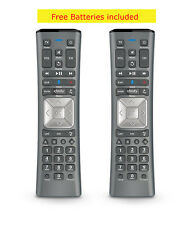 Lot of 2 Xfinity/Comcast VOICE Remote Control XR11 Backlight X1 with Batteries,.
