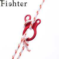 10pcs Quick Knot Tent Wind Rope Buckle Antislip Hiking Camping Tightening Hook