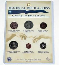 HISTORICAL RELIGIOUS Greek Roman Toy Prop Collectors BIBLE COIN SET Number 1 New