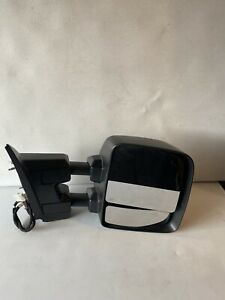 2016-2019 nissan titan passenger side view mirror tow package textured heated .