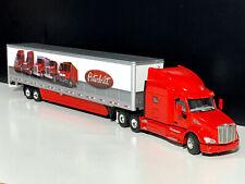 Peterbilt 579  6x4 with box trailer 2 axle-WSI truck models-04-2025