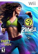 Zumba Fitness 2 Wii Great Condition Complete Fast Shipping