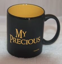 My Precious collectible cup 10 oz. black w/yellow letters and inside