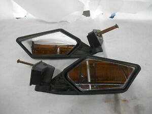 Can Am 715002898 Maverick X3 Max Pair Left & Right Side Mirrors 2018-2021