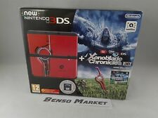 CONSOLE NINTENDO NEW 3DS XENOBLADE CHRONICLES 3D LIMITED EDITION COMPLETO GIOCO