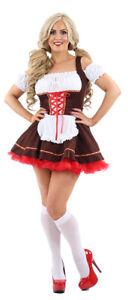 German Beer Girl OKTOBERFEST Fancy Dress Womens Ladies Hen Party FREE POST (HA)
