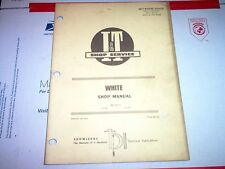 2-135  2-155 White Tractor I&T Shop Service Manual
