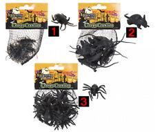Spiders Rats Cockroach Halloween Party Spooky Scary Prop Deco Creepy Crawlies 12