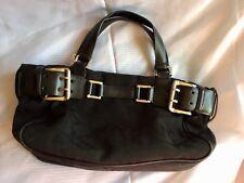 Black DNKY Designer Monogram Handbag