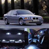 21×White LED Interior Bulb Light Full Kit Error Free for BMW 7 SERIES E38 95-01