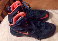 sale retailer ba76b b2348 Nike Air Zoom Hyperposite 2, 653466-482, Space Blue Peach Cream,