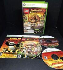 LEGO INDIANA JONES THE ORIGINAL ADVENTURES Xbox 360 Complete CIB Fast Shipping!!