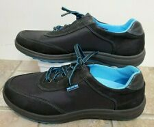 SAS Women Shoes Sporty Lace Up Black Blue 7.5 W Worn Once