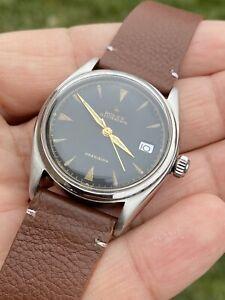 Vintage rolex oysterdate precision 34mm Ref 6094 Hand Winding Man's Watch