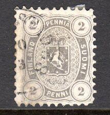 Finland - 1875 Def. Coat of Arms Mi. 12Ayb FU (Perf. 11) c