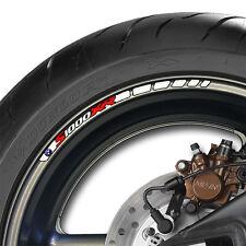 8 x BMW S1000XR Wheel Rim Decals Stickers Stripes - s 1000 xr
