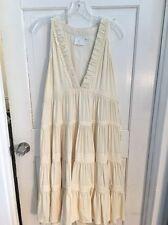 Free People Candela NYC Amazing Boho Tiered Dress Unique Xs But Runs Big