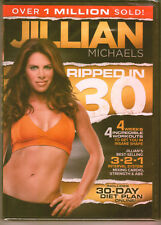 BRAND NEW!!  Jillian Michaels: Ripped in 30 (DVD, 2011) Workout Video