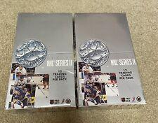 Pro Set Platinum NHL Series 2 Hockey Trading Cards 91-92 2 Sealed Boxes!