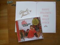 MOLLY BURCH SIGNED CD MOLLY BURCH CHRISTMAS AUTOGRAPHED 2019