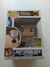 Funko Pop,Back to The Future 965, Marty Checking Watch.SDCC 20 Summer Convention