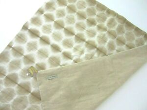 """SHIBORI Handcrafted HEXAGON PATTERN PILLOW COVER by Distant ECHO  24"""" x 24""""  NEW"""