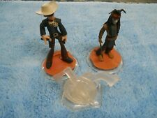 Disney Infinity Characters Lone Ranger And Tonto With Crystal