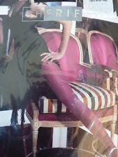 collant CHERIE fantasie arabesque taille M/2 NOIR fine resille