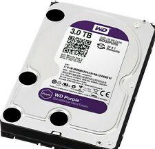 WD Hard Drive WD30PURX 3TB 3.5 Surveillance  PURPLE DVR Western digital 6Gb/s 64