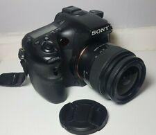 Sony Alpha A77 SLT-A77V 24.3MP DSLR Camera & 18-55mm Lens