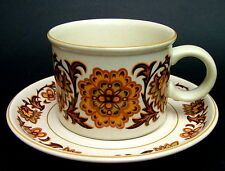 Midwinter Woodland Pattern Stonehenge Range Tea or Coffee Cups & Saucers in VGC