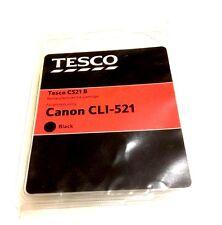 Tesco C521 B Black Remanufactured Ink Canon CLI-521 Black