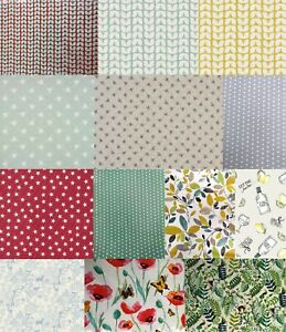 Oilcloth Tablecloths, Cotton Cloth with Wipeclean Pvc Coating, Table Protector