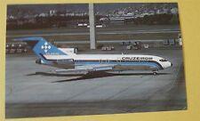 Cruzeiro do Sul SA Boeing 727-C3 PP-CJE Brazil Airline Aircraft Postcard