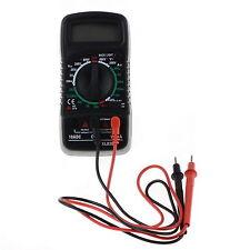 Multimeter Volt Ammeter Digital LCD  AC/DC/OHM Tester Current Test Lead XL830L S