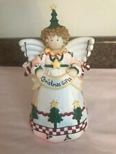"""Christmas Angel small bank approx 7"""" tall. Super Cute!"""