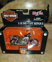 Maisto 1:18 Harley 2001 FXDL Dyna Low Rider Diecast series 12 new style box