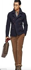 Suitsupply Leager 38R Navy knitted coat V1302 Great condition 38 Suit supply