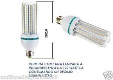 LAMPADA LAMPADINA LED E27 16W 6000K° LUCE BIANCA 1800LM FUNZIONA COME DA 120WATT