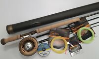 """Sage Trout Spey HD Complete Outfit- 10'9"""" - 2wt - 4pc - NEW"""