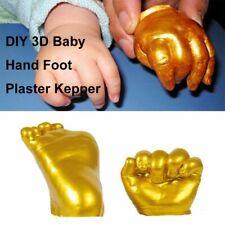 3D Baby Hand Foot Print Plaster Casting Kit Handprint Footprint Keepsake Dec ^YH