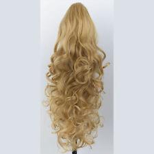Perruques, extensions et matériel queues de cheval blonds bouclés pour femme