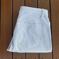 Loft Ann Taylor Light Green Blue Jeans Size 10