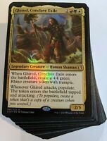 ***Custom Commander Deck*** Ghired Conclave Exile - Tokens - EDH MTG Magic Cards